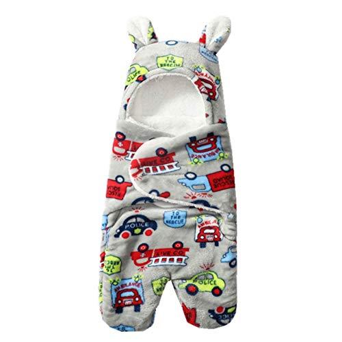 Mantas para Bebé Niñas Niños Mantas Envolventes para Dormir Recién Nacido Saco de Dormir Manta con Capucha Cochecitos Sillas Mantita con Piernas, 0-3 Meses
