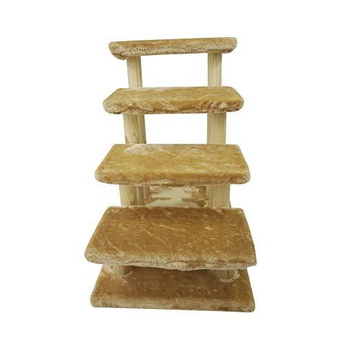 猫 ステップ 猫用 階段ペット ソファー 階段 ドッグステップ ペットゲート純木 猫用 階段 ペット階段 犬用...
