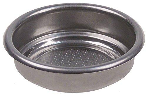 Kaffeesieb für Kaffeepads ø 70mm 0,4mm Einbau 60,5mm Höhe 19,3mm 0,4mm 2 Tassen