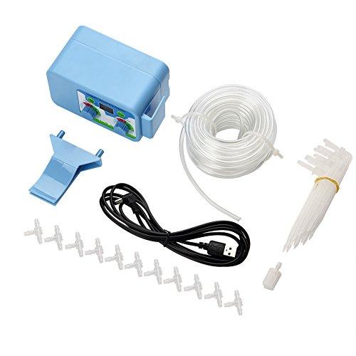 Alsona Pantalla LCD Temporizador de riego automático Controlador de riego de jardín electrónico Controlador de riego automático