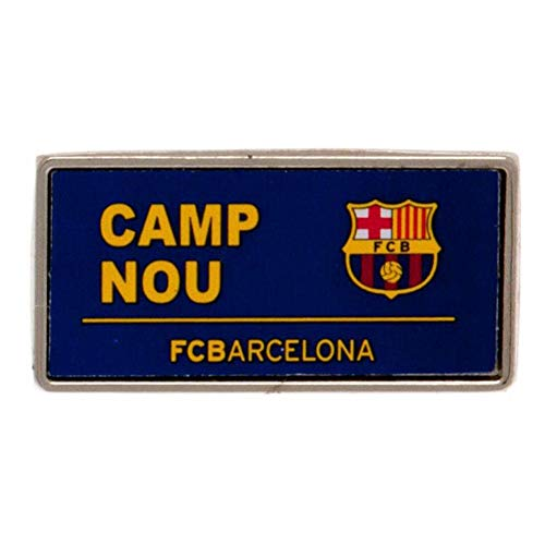 Club Licensed Barcelona Pin Placa de Calle
