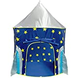 USA Toyz Play Tent for Boys or Girls – Rocket Ship Kids Tent,...