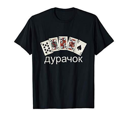 Professional Durak Russland Kartenspiel Dummkopf | Dura4ok T-Shirt