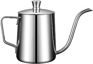 Cabilock Koffie Gator Giet Over Ketel Smalle Uitloop Koffie Pot Hand Drip Thee En Koffie Pot Zwanenhals Roestvrijstalen Ke...