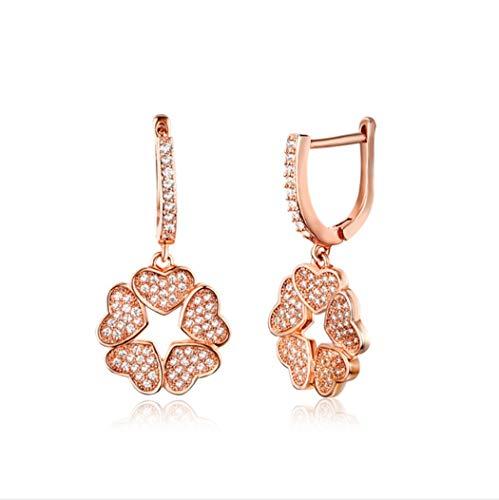 YOYOYAYA S925 Sterling zilveren oorbellen accessoires meisjes minimalistische wilde franjes Studs partij datum hanger slinger slinger