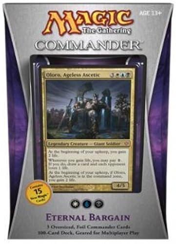 para proporcionarle una compra en línea agradable Magic Magic Magic the Gathering - Commander 2013 - Eternal Bargain Deck by Magic  the Gathering  mejor calidad mejor precio
