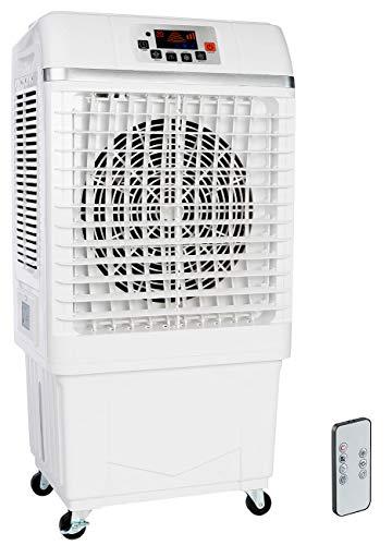 Sichler Haushaltsgeräte Kühlgeräte: 2in1-Luftkühler & Luftbefeuchter mit Ionisator, 26 Liter, 100 W, 25 m² (Klimagerät ohne Abluftschlauch)