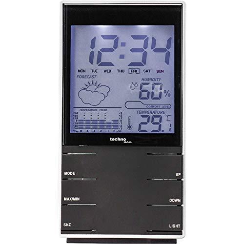 Wetterstation WS 9120 mit Vorhersage von Wettersituation, Innentemperatur und Temperaturhistorie