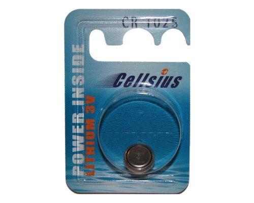Diverse Panasonic knoopcel CR1025 batterij zwart One Size