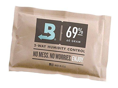 Boveda Prodotto per il controllo dell'umidità, 69% RH, confezionato individualmente, grande, 60 g
