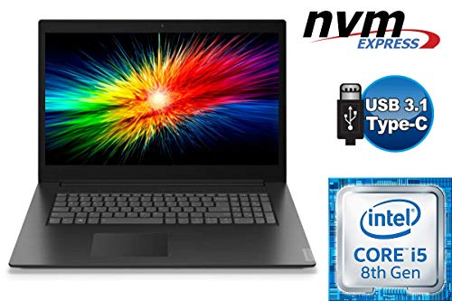 Laptop Lenovo V340-17IWL - Intel Core i5 - 256GB SSD + 1000GB HDD - 16GB DDR4-RAM - CD/DVD Brenner - Windows 10 PRO - 44cm (17.3