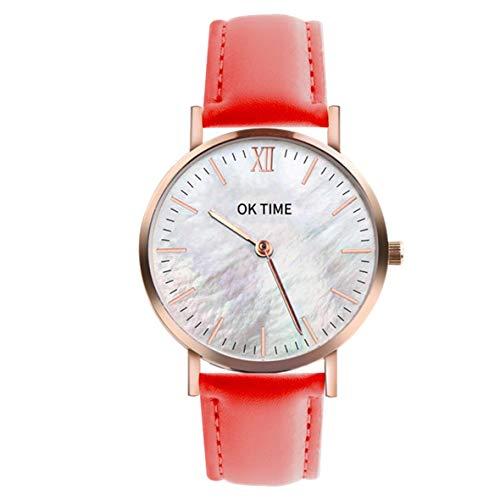 Heaviesk Watch Seashell Mesh 36mm Damenuhr Quarzuhr Zifferblatt Quarz Uhren Exquisite Verarbeitung