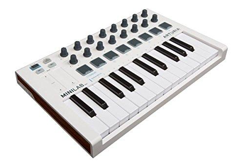 MiniLab Mk II controlador MIDI universal 25 teclas 16 Pad RGB retroiluminados