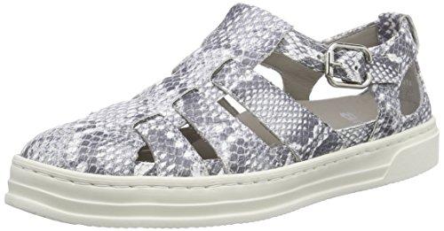 ara Damen Courtyard Sneaker, Grau (grey 09), 37.5 EU