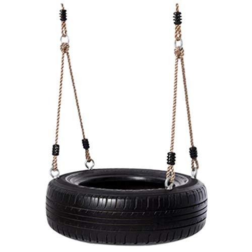 LHQ Reifenschaukel, Safe Und Spaß Für Kinder Outdoor-Schaukel (schwarz)