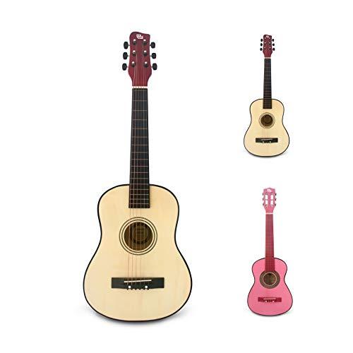 CB SKY 30' Wooden Acoustic Guitar for Kids/Boys/Girls/Beginners/Guitar for age 3-5 5-9