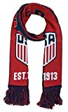 Icon Sports Women's U.S. Soccer Team Reversible Knit Scarf, Blue, One Size