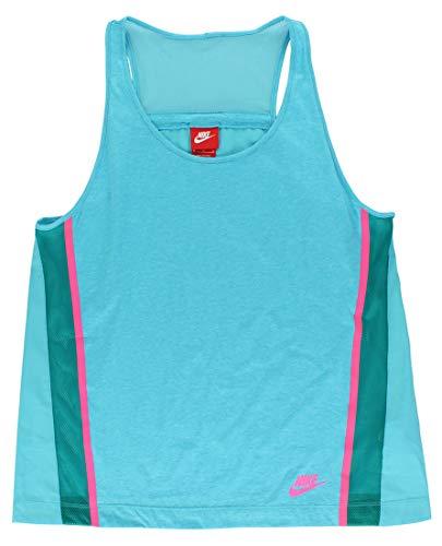 Nike Women's Bonded Tank Top, Omega Blue, XS