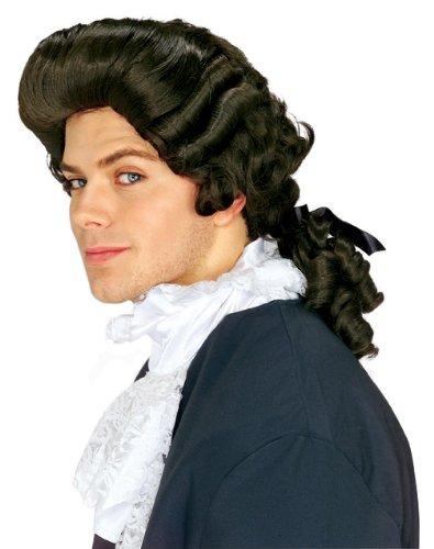 Rubie'slonial Man Wig, Brown, One Size
