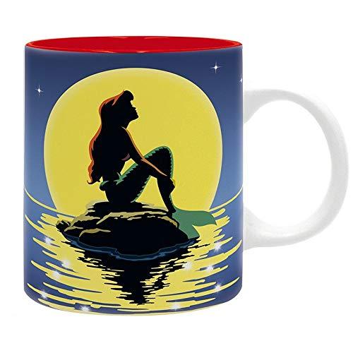 Arielle die Meerjungfrau Disney Premium Keramik Tasse - Sunset - Geschenkbox