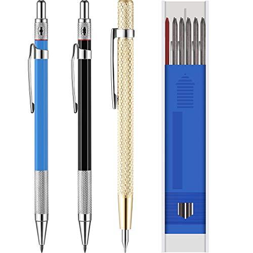 Zimmermann Stifte mit Marker Minen und Hartmetall Anreiß Werkzeug für Glas, Keramik, Gehärteten Stahl (15 Stücke)