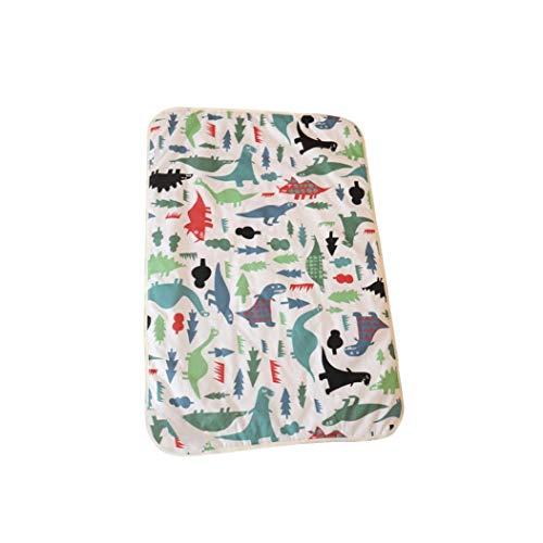 Aiyrchin Transpirable colchón lámina Impermeable Cama cojín Reutilizable Cambiador de pañales para bebé Infantil Suave orina Estera Absorbente Mojar la Cama Colchón