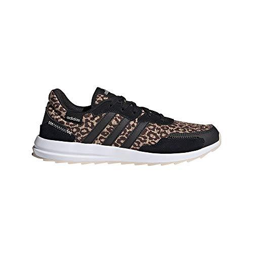 adidas RETRORUN, Zapatillas de Running Mujer, BEIBRU/NEGBÁS/Carton, 42 EU