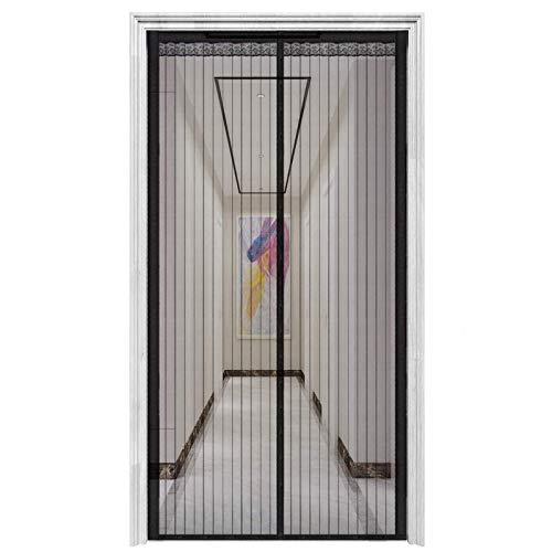 YJHH Puerta Mosquitera Magnetica Abatible, Cortina Mosquitera para Puertas, Fácil De Ensamblar para Puertas De Sala De Estar La Puerta del Balcón