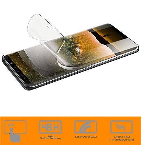 zanasta Schutzfolie kompatibel mit Nokia 8 (2017) Bildschirmschutzfolie Nano Folie | Volle Abdeckung, Klar Transparent