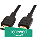 AmazonBasics High-Speed HDMI Cable, 6 Feet (Renewed)