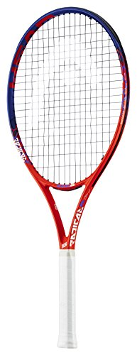 HEAD Kinder Radical Tennisschläger, Graphit / Komposit, Orange / Blau, 26-Inch (10+ Years)