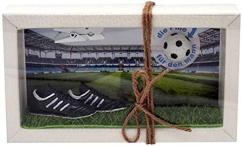 ZauberDeko Geldgeschenk Verpackung Geldverpackung Gutschein Fußball Pille für den Mann Sport Weihnachten Geschenk