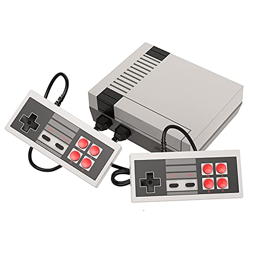 Retro Classic Mini Nes Video Game Consoles.Built-in 620 Classic Games and 2X 4 Nes Classic Button Controller AV Output Video Games, It Is An Ideal Gift Choice for Children and Adults.