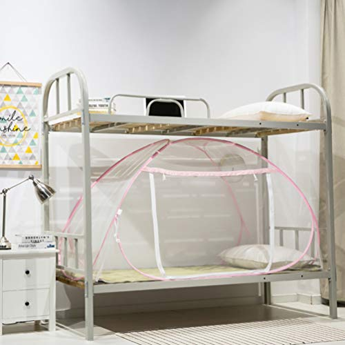 XGYUII slaapzaal muggennet stapelbed netten yurts slaapkamer eendeurs vouwen eenpersoonsbed anti-muggen en vliegen bijten voor camping reizen
