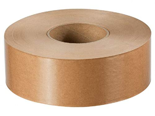 1 Nasskleberolle, unverstärkt, 60mm/200 m, 70g/m², Nassklebeband