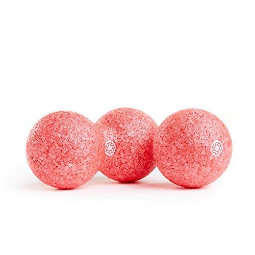 enducore Duoball - Faszienrolle in Peanutform für Selbstmassage & Faszientraining - ideal für Nacken und Rücken - Twinball Massagerolle - Faszienball - Härtegrad mittel - 8 cm, 12 cm oder als Set