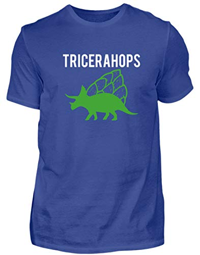 Desconocido Tricerahops - Camiseta para Hombre con diseño de Triceratops y lúpulo...