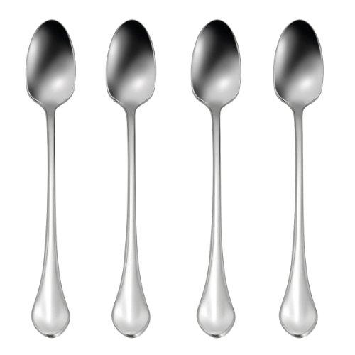 Oneida Sets of 4 Flatware Capello Iced Tea Spoons, Set of 4