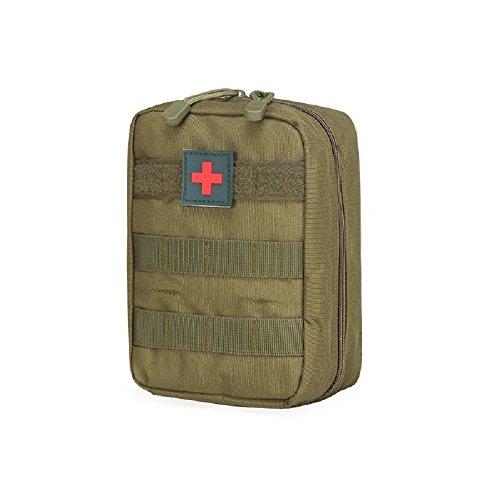 ForuMall Molle Taktische Erste Hilfe Kit Tasche First Aid Pouch Set Tactical Medizinische Notfalltasche für Outdoor Zuhause Sport Reisen