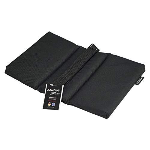 SANDINI SeatFix - flexibel zitkussen voor vrijetijds-/bierbank/parkbank/stadion/rollator. Eenvoudige bevestiging - comfortabel en hoogwaardig zitkussen