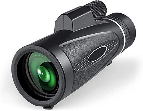 TEPET HD High Power 18X62 Monokular Teleskop, BAK4 Prisma Wasserdicht mit Smartphone Adapter Stativ, für VogelbeobachtungWandern Camping