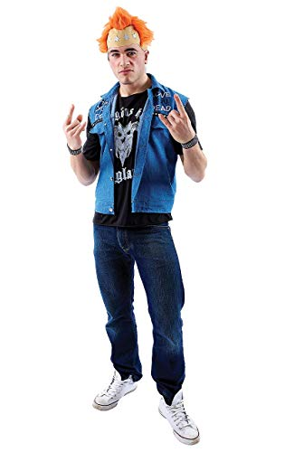Orion Costumes Men's Vyvyan Basterd The Young Ones Fancy Dress