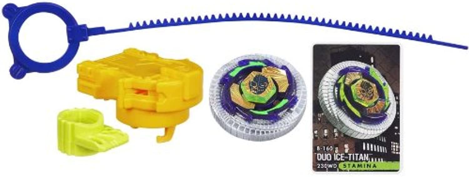 Beyblade Metal Fury Duo Ice-Titan [UK Import]