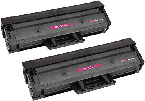 2 Premium Toner kompatibel für Samsung MLT-D101S D101S ML-2160 ML-2165 ML-2165W ML-2168 SCX-3400 SCX-3405 SCX-3405FW SCX-3405F SCX-3405W SF-760P | 1.500 Seiten