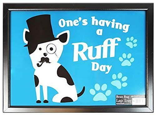 Ruff Day Wooden Frame Beanbag Cushioned Laptray Lap Tray