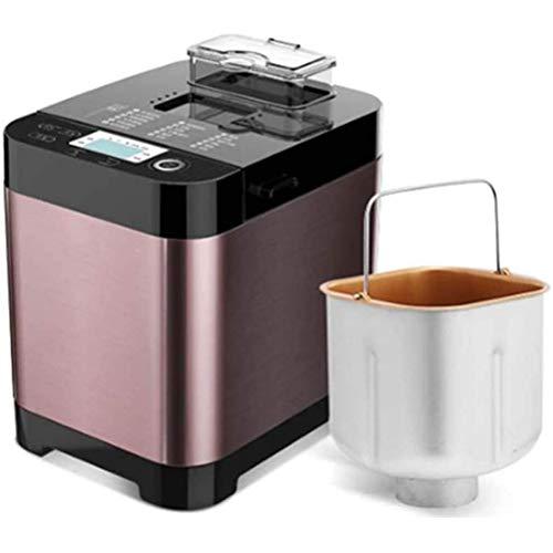 Multifunktionaler Brotbackautomat, Edelstahl-Brotmaschine, programmierbar, 18 Einstellungen, 3 Krustenfarben, Reserve & Keep Warm Set