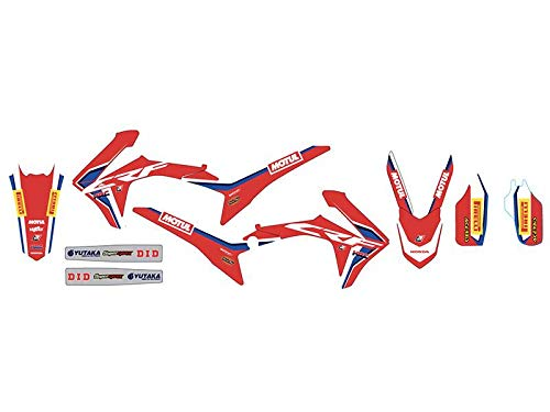 Blackbird kit adesivi Replica Team Hrc Honda Crf r 250 2014-2017 / Honda Crf r 450 2013-2016 /
