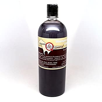 Yeguada La Reserva Shampoo de Caballo Negro  1 liter Bottle  - All Natural - For Strong Healthy And Beautiful Hair