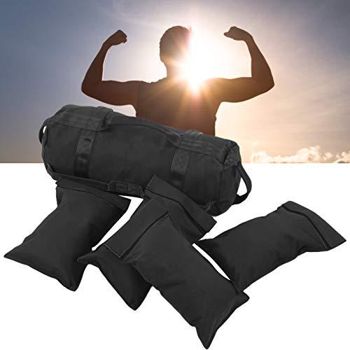 KAKAKE Equipo de Entrenamiento Muscular, Material a Prueba de Fugas y Bolsa de Arena para Levantamiento de Pesas Materiales de Tela Oxford Ejercicio en Interiores