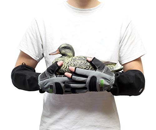 ArmOR Hand Glove, Cut Finger Animal Handling Gloves, Small Veterinarian Zookeeper Wildlife Handling Gloves